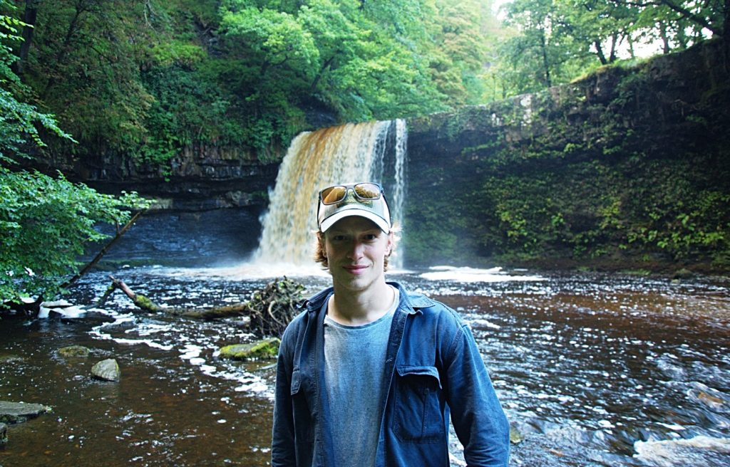 Adam Haworth at the Waterfall Country – Brecon Beacons