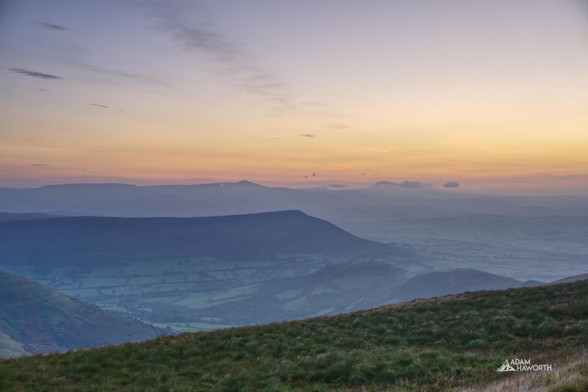Waun Fach Black Mountains. Brecon Beacons Photography